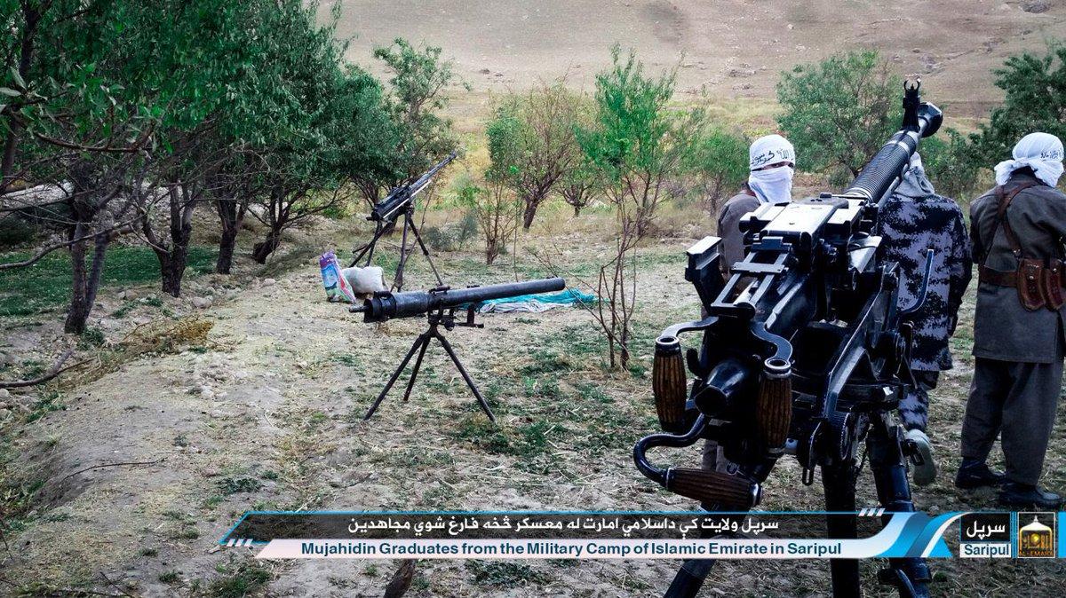 Подготовка боевиков в военных лагерях талибов