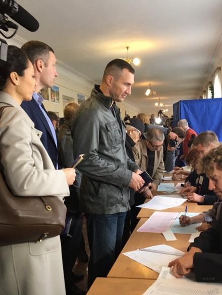 Местные выборы в Украине 2015. LIVE