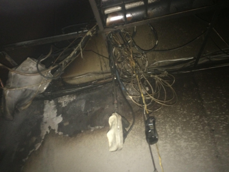В Гостомеле горели склады Новой почты: фото