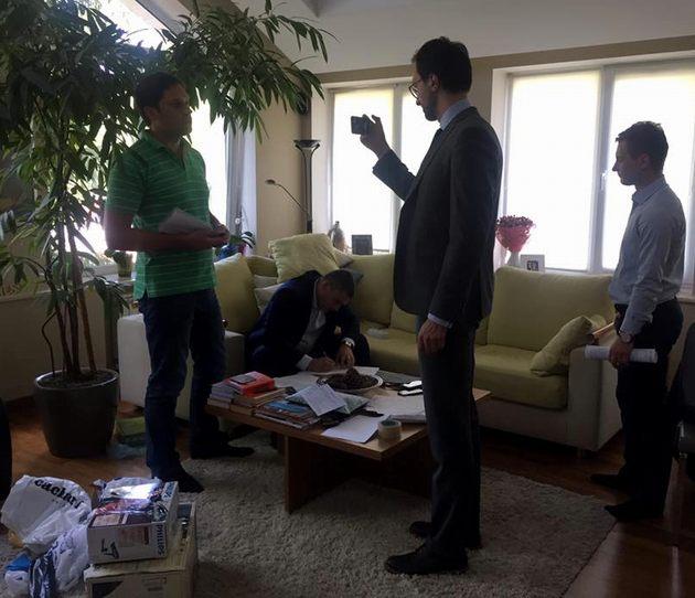 Кодному изруководителей «Демальянса» пришла полиция собыском
