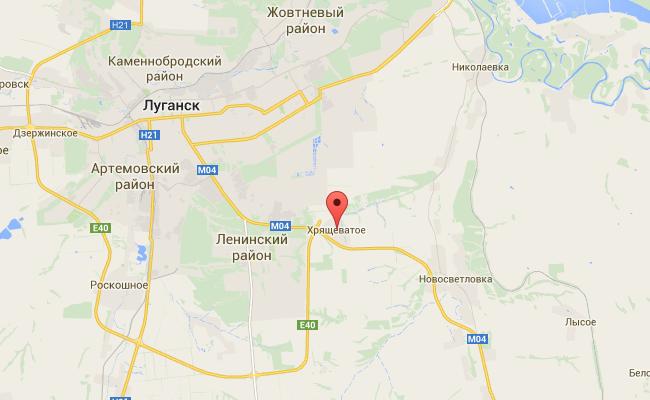 Войска РФ разгромили село Хрящеватое под Луганском: фото