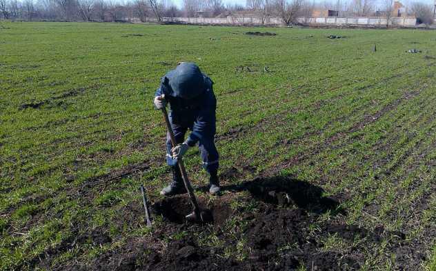 Балаклею иприлегающие села очистили отбоеприпасов