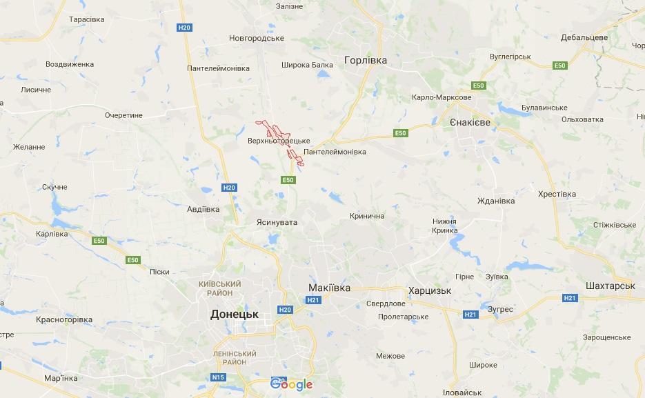 Штаб АТО заявил об угрозе гражданским на одном из участков фронта