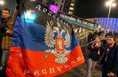 В Швеции протестовали против Путина, а россияне привезли флаг ДНР