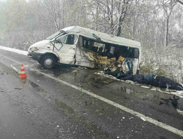 В Харьковской области произошло ДТП с большим количеством жертв