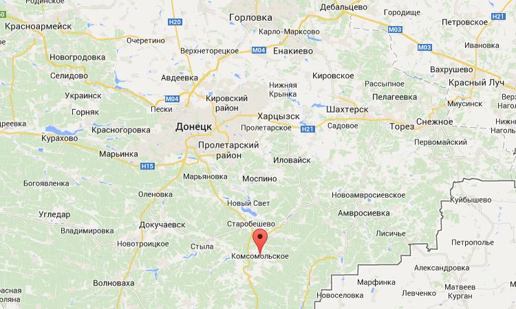 Силы АТО вошли в город Комсомольское - СНБО