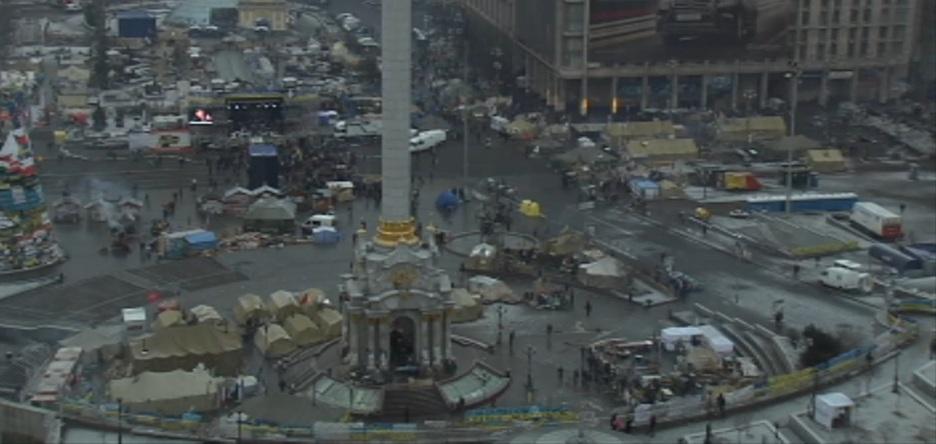 Евромайдан, день 42-й: хроника