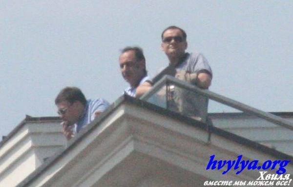 Захарченко про Інтерконтиненталь: Я був на даху? Я вас прошу!