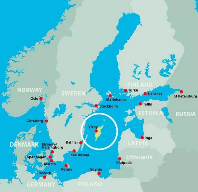 Швеция направила войска наостров вБалтийском море