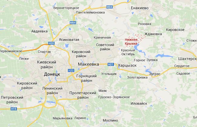 Под Донецком найдена братская могила