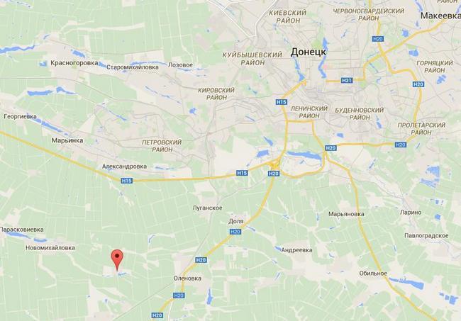 Силы АТО отбили атаки у поселка Славное и в Донецком аэропорту