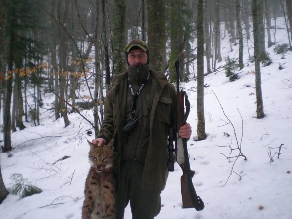 В Карпатах лесники застрелили краснокнижную рысь: фото