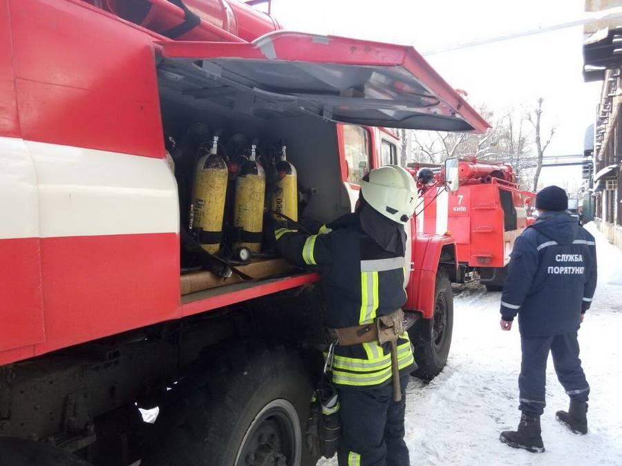 ВКиеве произошел пожар всалоне трамвая