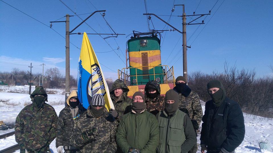 Полиция опровергла обвинения участников блокады Донбасса в штурме
