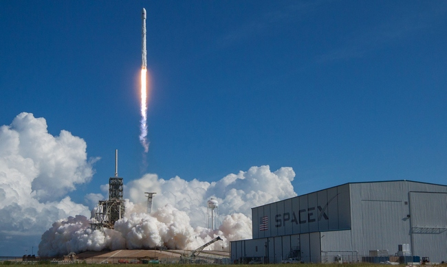 SpaceX вывела в космос секретный беспилотник ВВС США: фото, видео