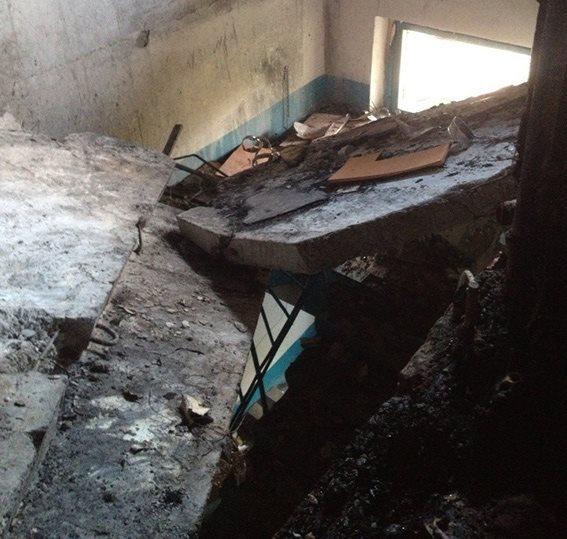 На месте взрыва в Павлограде полиция обнаружила тело женщины