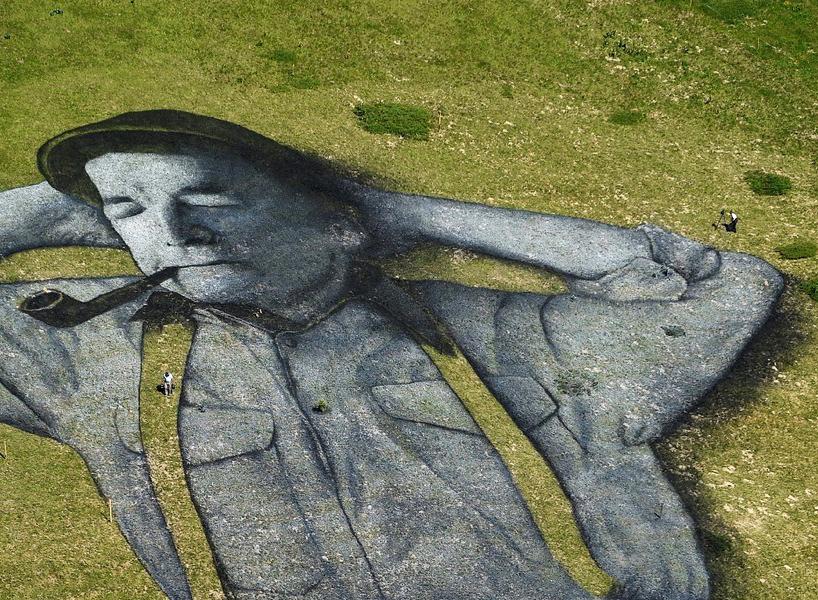 У Швейцарії створили найбільший ленд-арт в світі: фото, відео