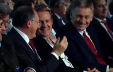 Медведчук уехал к Путину и смеется с Песковым: фото, видео