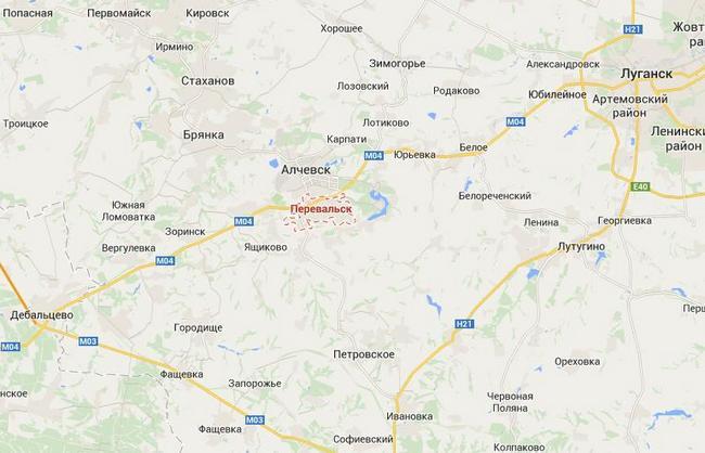 В Перевальске и Алчевске обостряется конфликт боевиков и казаков