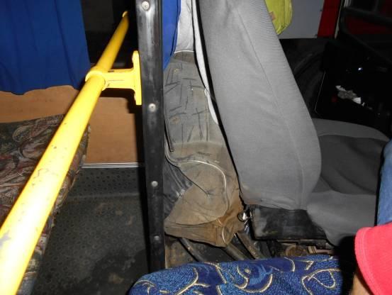 Под Львовом в автобусе разорвался бак охлаждения: 5 пострадавших