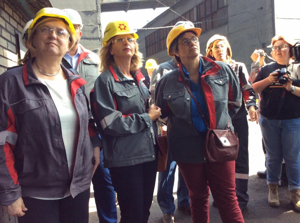 Евродепутаты и послы стран ЕС посетили Авдеевку