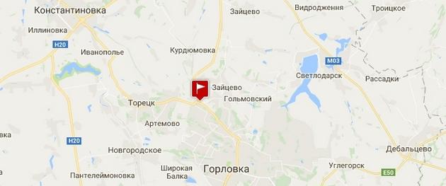 Зона АТО: пункт пропуска Зайцево перенесли в Майорск - карта
