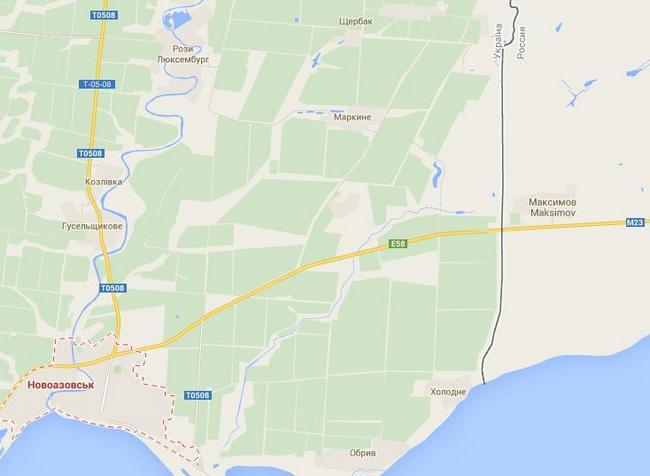 Боевики захватили несколько сел возле Новоазовска - СНБО
