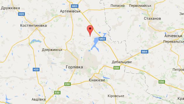 В Донецкой области произошел бой с оккупантами - штаб АТО