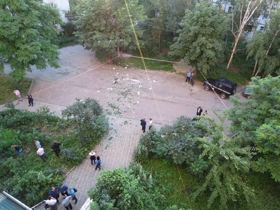 В Сумах в офисе Батькивщины произошел взрыв