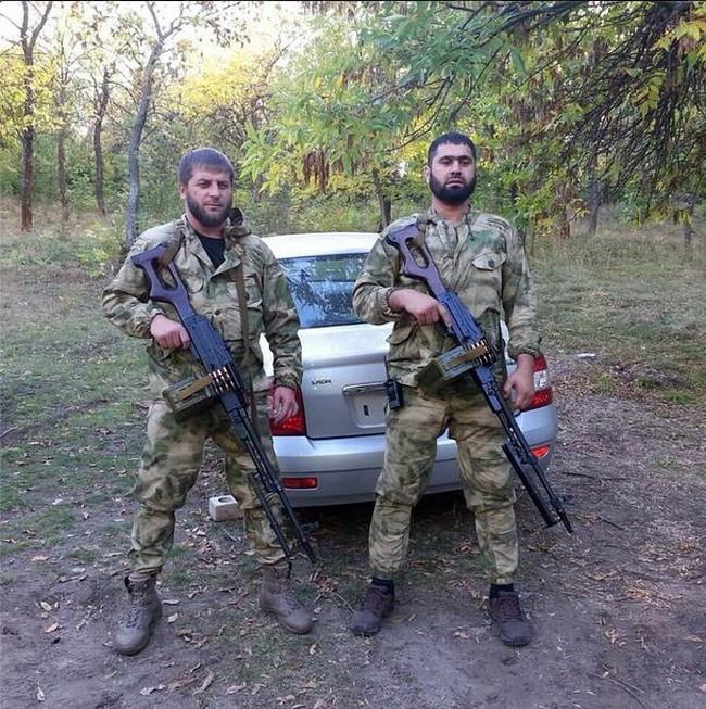 Чеченские наемники выполняют особые задания для главаря ДНР: фото