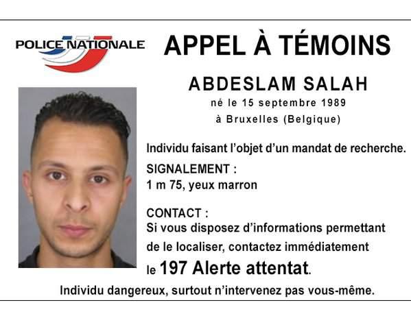 Европейские силовики потеряли след террориста Абдеслама - CNN