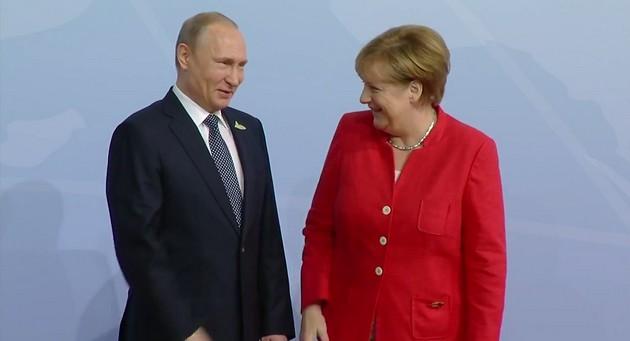 Трамп увиделся с Путиным на саммите G20