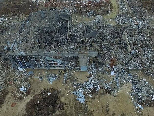 Луганский аэропорт уничтожили Точками-У с территории РФ - Минюст
