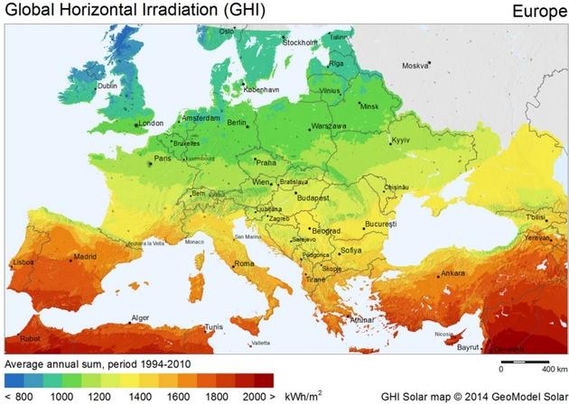 Солнечные станции повыробатыванию электричества построят рядом сбывшей Чернобыльской АЭС