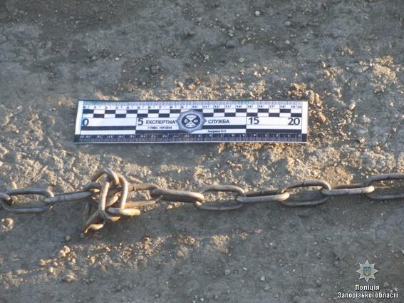 В Запорожье фермер похитил супругов и держал их на цепи: фото