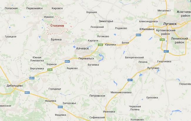 В район Стаханова переброшены десантники ВС РФ - Тымчук