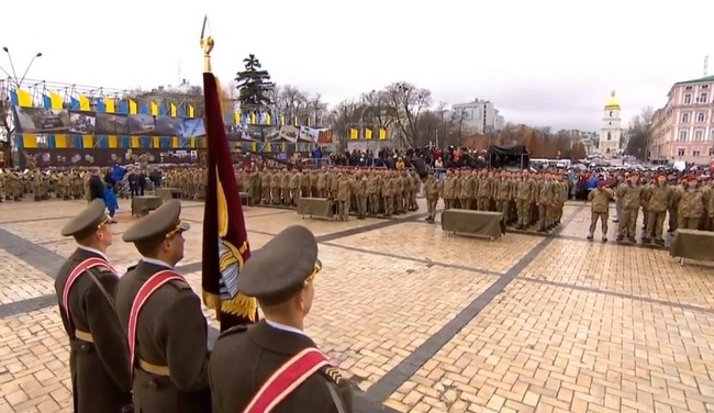 Украинские десантники впервый раз отмечают собственный профессиональный праздник 21ноября