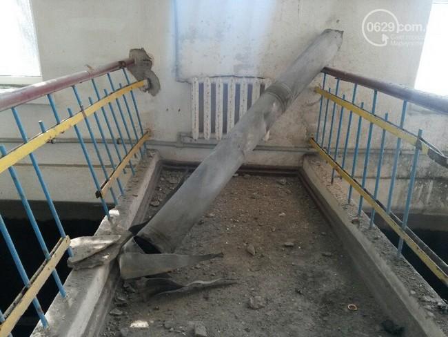 В Мариуполе снаряд попал в фильтровальную станцию