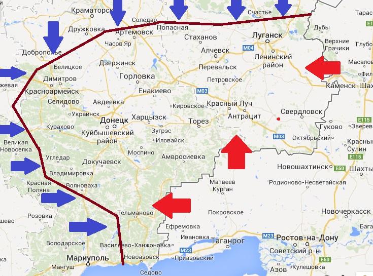 Война в Донбассе: армия выстраивает новую линию обороны от России