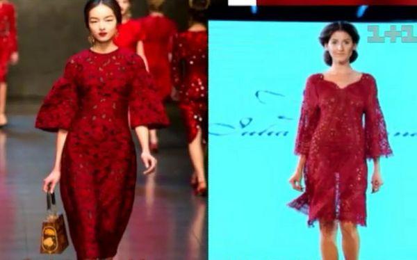 Украинского дизайнера подозревают в копировании Dolce&Gabbana