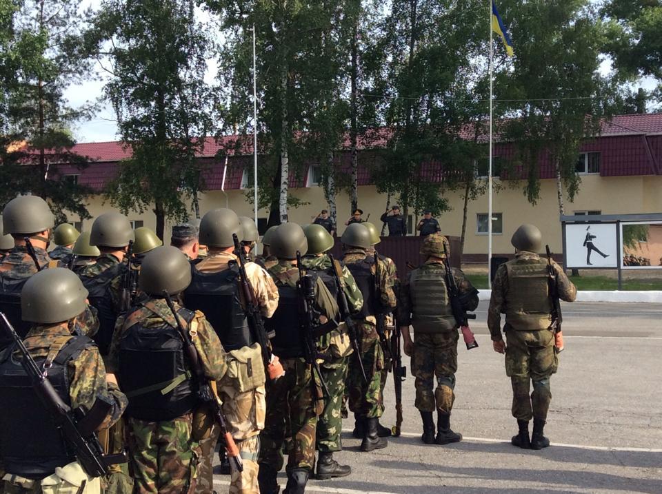 Второй батальон Нацгвардии прибыл в Славянск