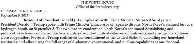США готовы применить ядерное оружие против Северной Кореи