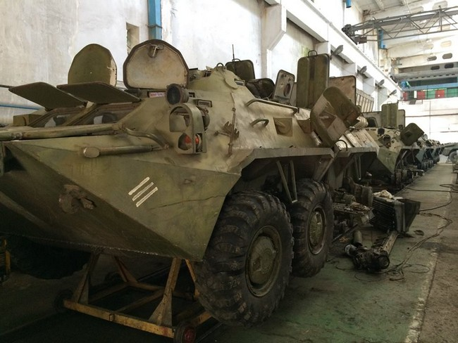 Бирюков рассказал о расконсервации военной техники ВСУ: фото