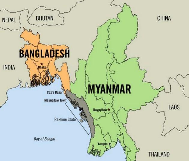 Этнорелигиозные бои в Мьянме: тысячи людей спасаются бегством