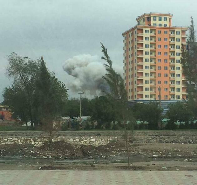 Около колонны военных НАТО вКабуле подорвался смертник