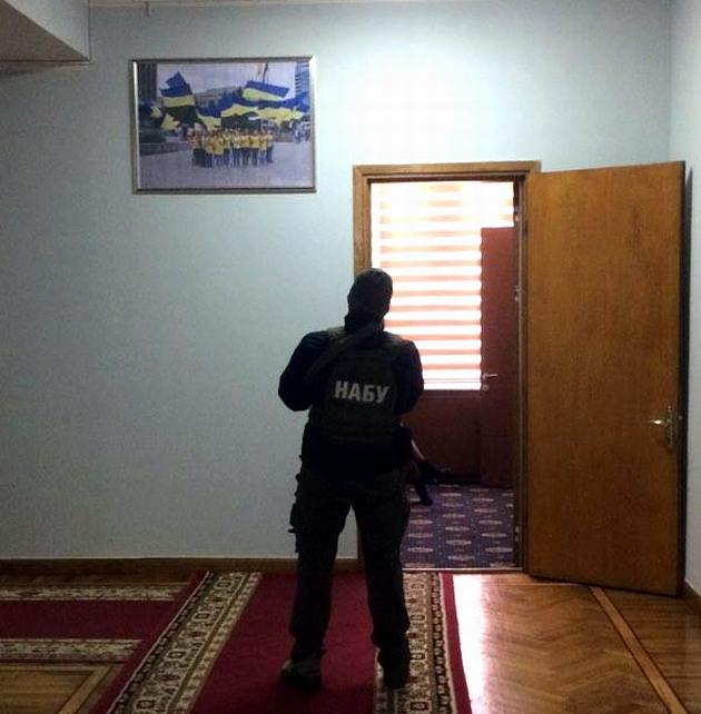 НАБУ обыскивает кабинеты Запорожской облгосадминистрации: фото