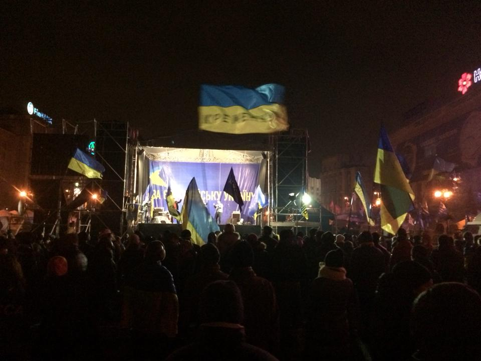 Евромайдан, день 14-й: хроника