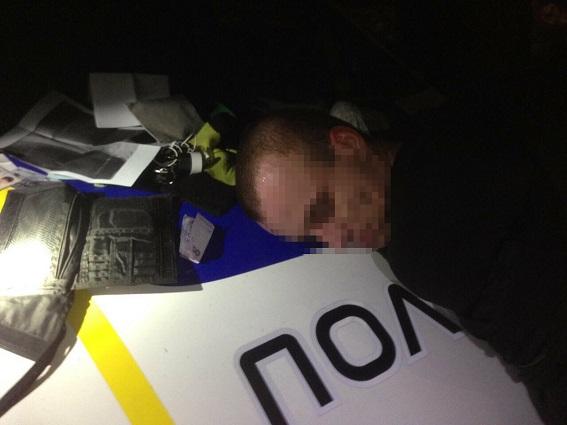 Полиция задержала двух киевлян, угнавших авто с иностранкой