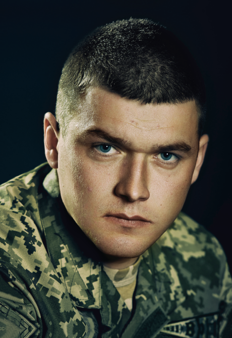 Президент дал Героя Украины старлею Гринюку за зачистку Логвиново
