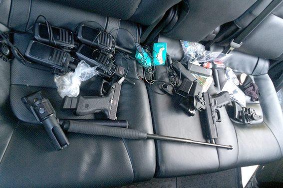 Задержание банды грабителей после стрельбы в Княжичах: детали